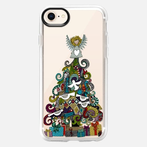 angel tree transparent - Snap Case