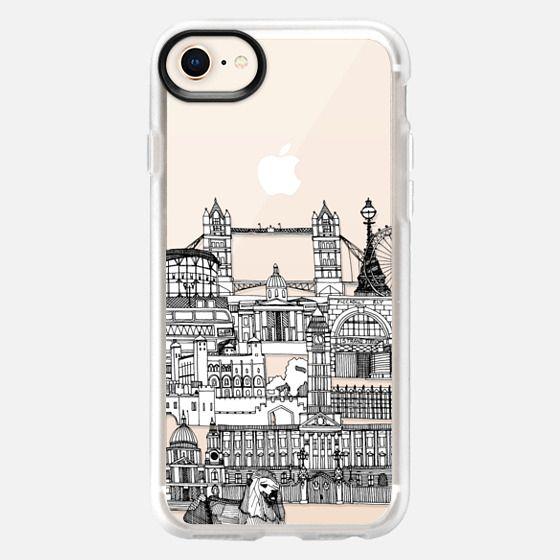 London toile transparent - Snap Case