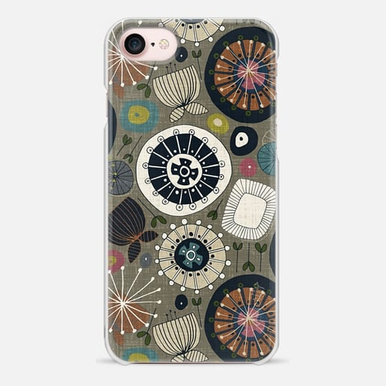 blooms moss - Snap Case