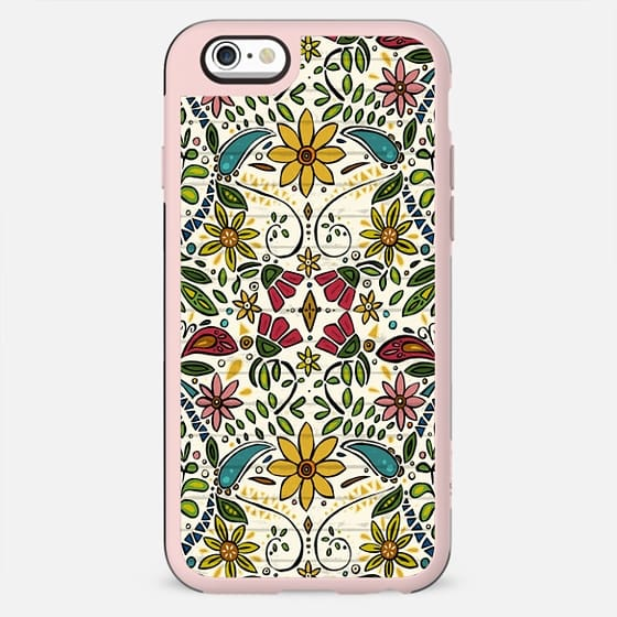 aziza pearl boho floral - New Standard Case