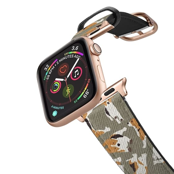Apple Watch 42mm Bands - beagle scatter stone