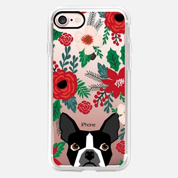 iPhone Case -  boston terrier black and white must have gifts for puppy owners boston terriers dog person