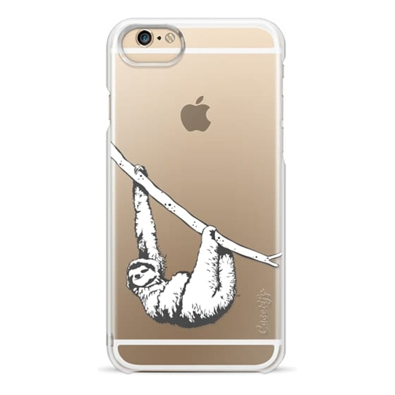 wholesale dealer 72f9c 756b3 Classic Snap iPhone SE Case - Sloth / Clear