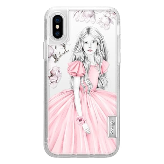iPhone 6s Cases - Little girl with magnolia
