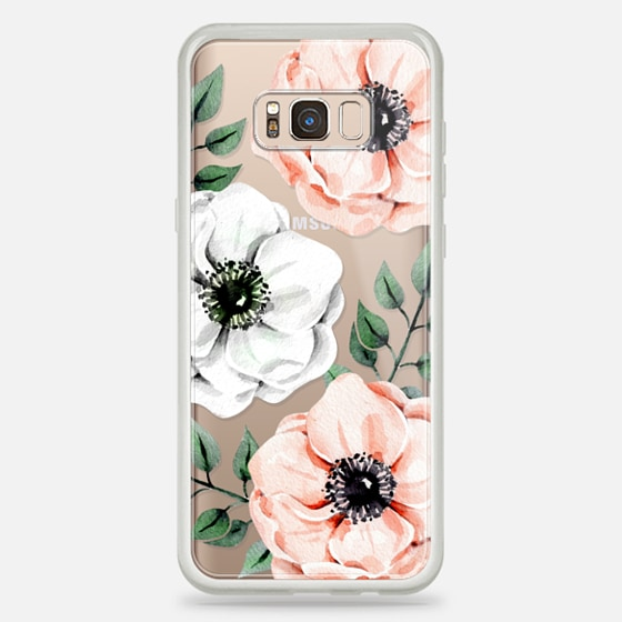 Galaxy S8+ Case - Watercolor anemones