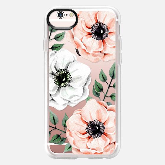 iPhone 6s 保护壳 - Watercolor anemones