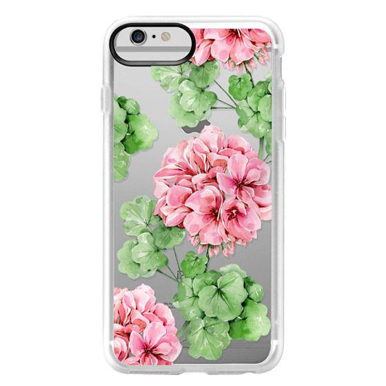 iPhone 6 Plus Cases - Watercolor geranium