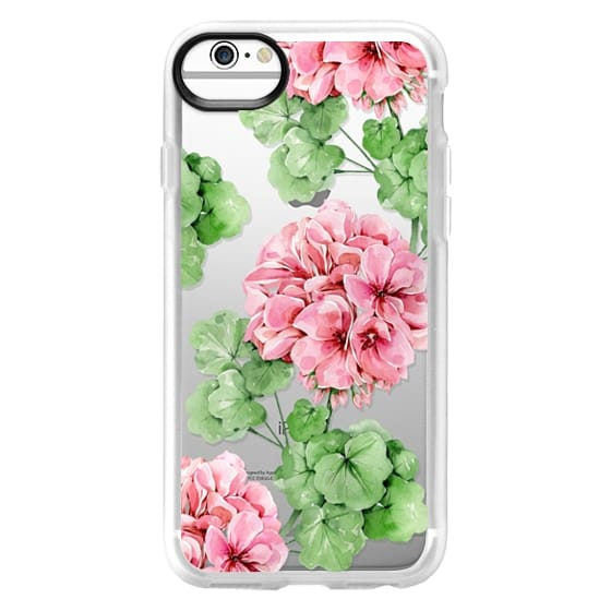 iPhone 6 Cases - Watercolor geranium