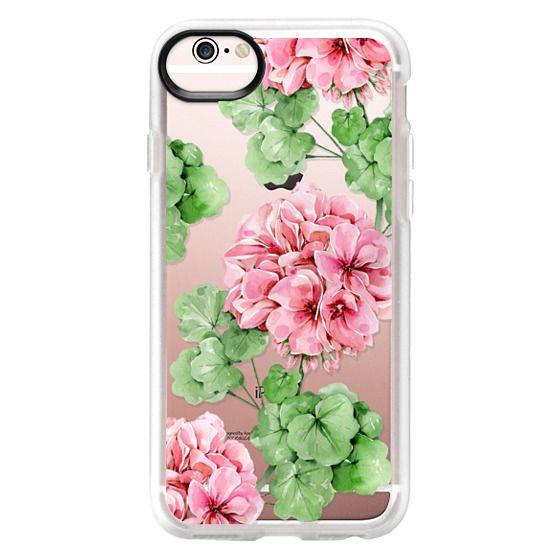 iPhone 6s Cases - Watercolor geranium