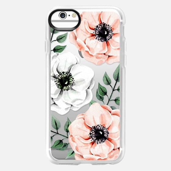 iPhone 6s Case - Watercolor anemones