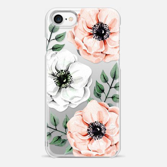 iPhone 7 Case - Watercolor anemones