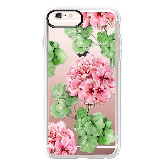 iPhone 6s Plus Cases - Watercolor geranium