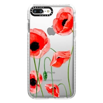 Impact iPhone 7 Plus Case - Red poppies