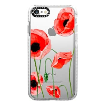 Impact iPhone 7 Case - Red poppies