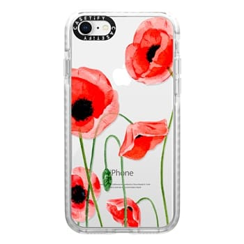 Impact iPhone 8 Case - Red poppies