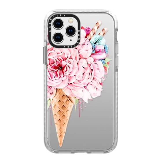iPhone 11 Pro Cases - Floral ice cream