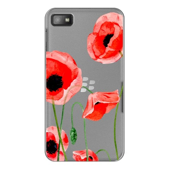 Blackberry Z10 Cases - Red poppies