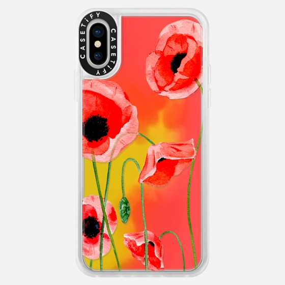 iPhone 7 Plus/7/6 Plus/6/5/5s/5c Case - Red poppies