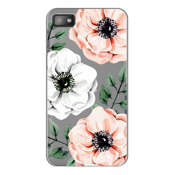 Blackberry Z10 Cases - Watercolor anemones