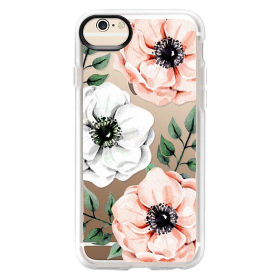 iPhone 6 Cases - Watercolor anemones