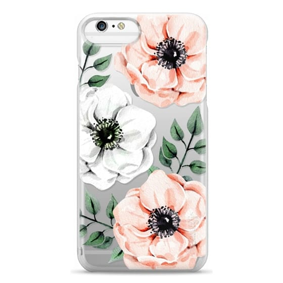 iPhone 6s Plus Cases - Watercolor anemones