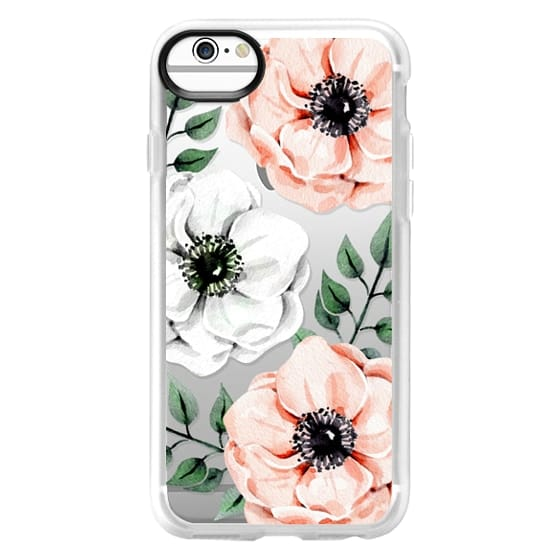 iPhone 6s Cases - Watercolor anemones