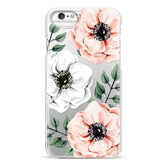 iPhone 6s Cases - Watercolor anemones