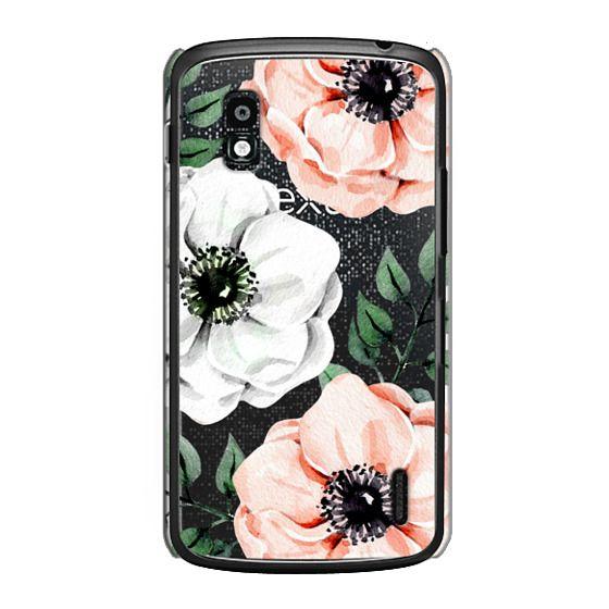 Nexus 4 Cases - Watercolor anemones