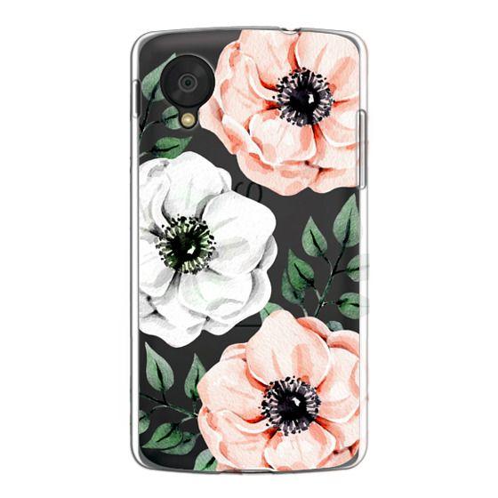 Nexus 5 Cases - Watercolor anemones
