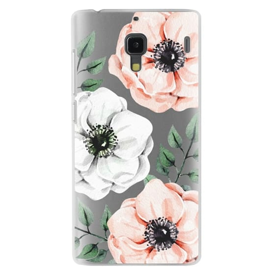 Redmi 1s Cases - Watercolor anemones