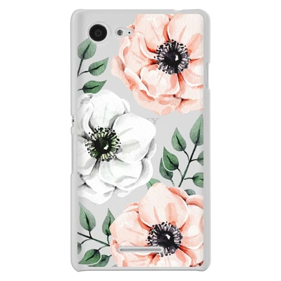 Sony E3 Cases - Watercolor anemones