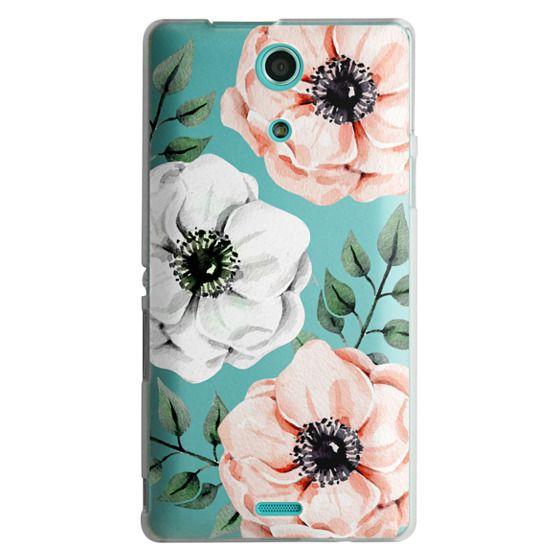 Sony Zr Cases - Watercolor anemones