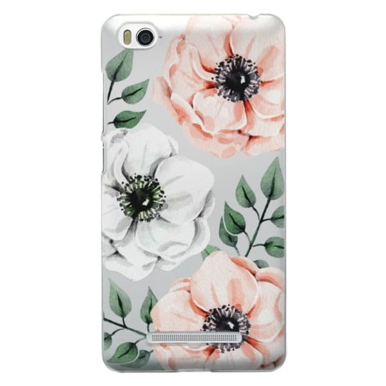 Xiaomi 4i Cases - Watercolor anemones