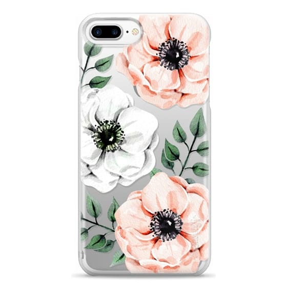 iPhone 7 Plus Cases - Watercolor anemones