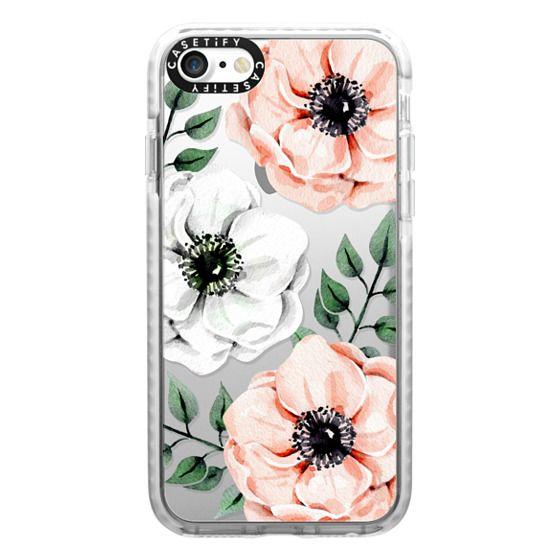 iPhone 7 Cases - Watercolor anemones
