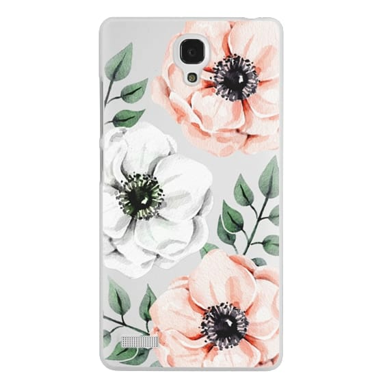Redmi Note Cases - Watercolor anemones