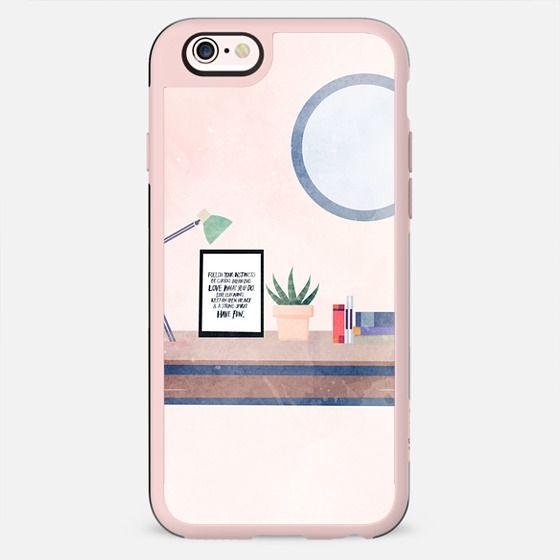 Peach deskspace - New Standard Case