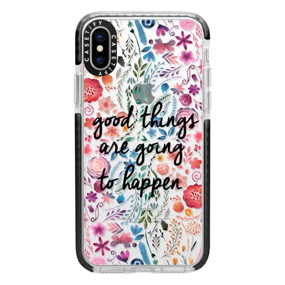 huge discount 74f27 18cd8 Impact iPhone X Case - Good things are going to happen