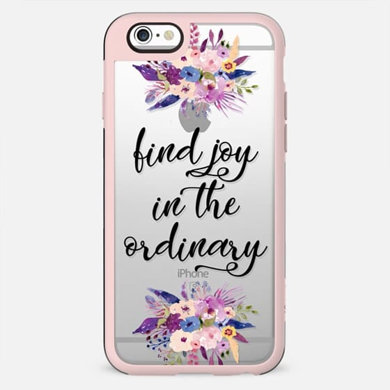 find joy in the ordinary - New Standard Case