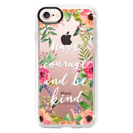iPhone X Cases - Have courage and be kind