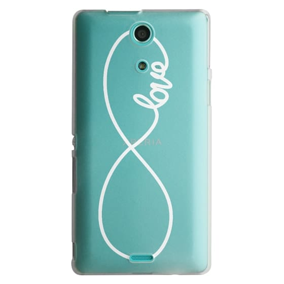 Sony Zr Cases - Love x Infinity (Vertical White)