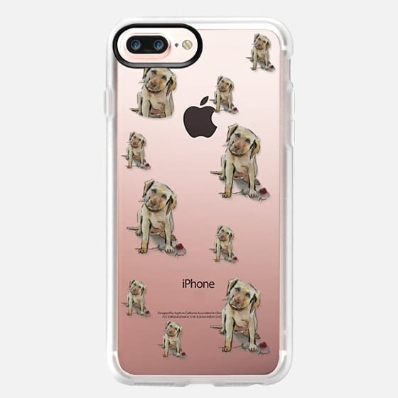 Labrador Pup Love Case - Classic Grip Case