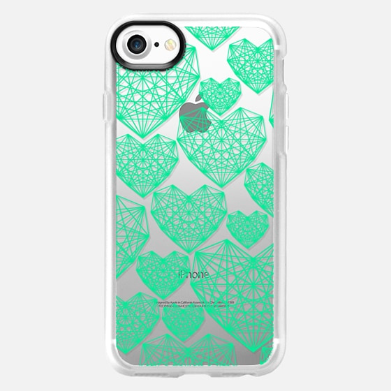 Abstract Heart - Wallet Case