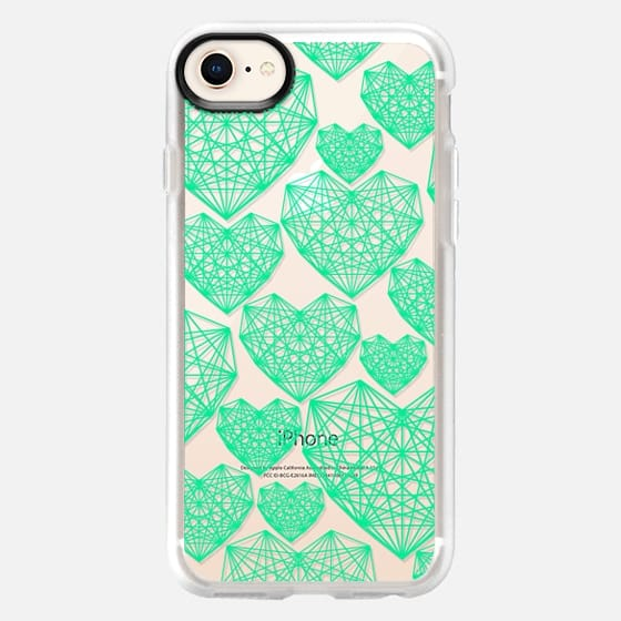Abstract Heart - Snap Case