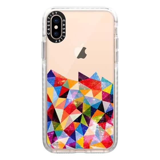 iPhone XS Cases - Space Shapes