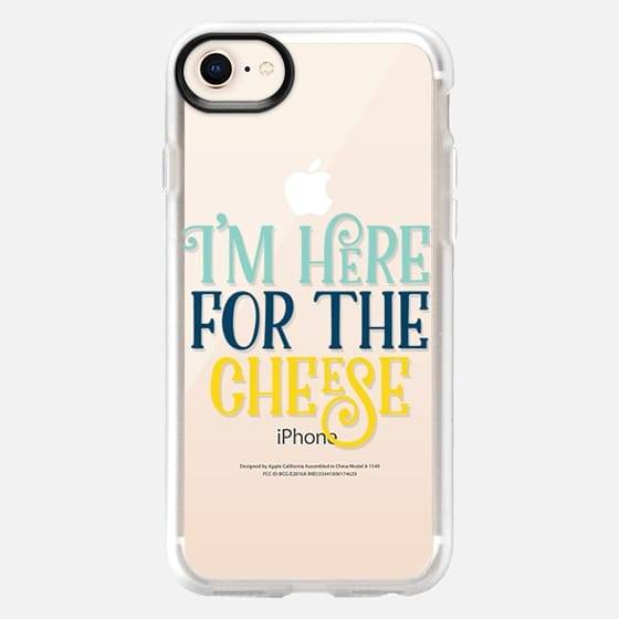 I'm Here for the Cheese - Snap Case