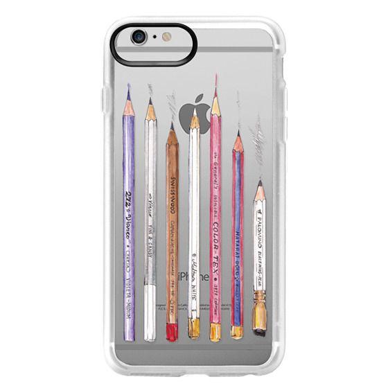 iPhone 6 Plus Cases - PENCILS TRANSPARENT