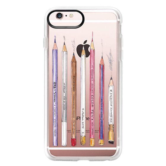 iPhone 6s Plus Cases - PENCILS TRANSPARENT