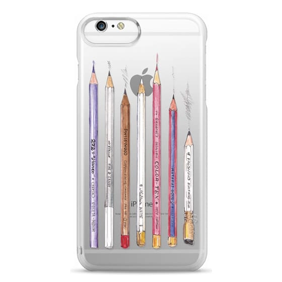 iPhone 6s Plus Cases - PENCILS TRANSPARENT