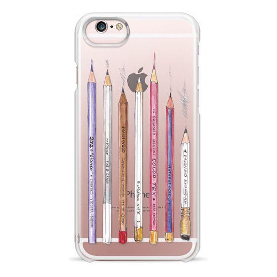 iPhone 6s Cases - PENCILS TRANSPARENT